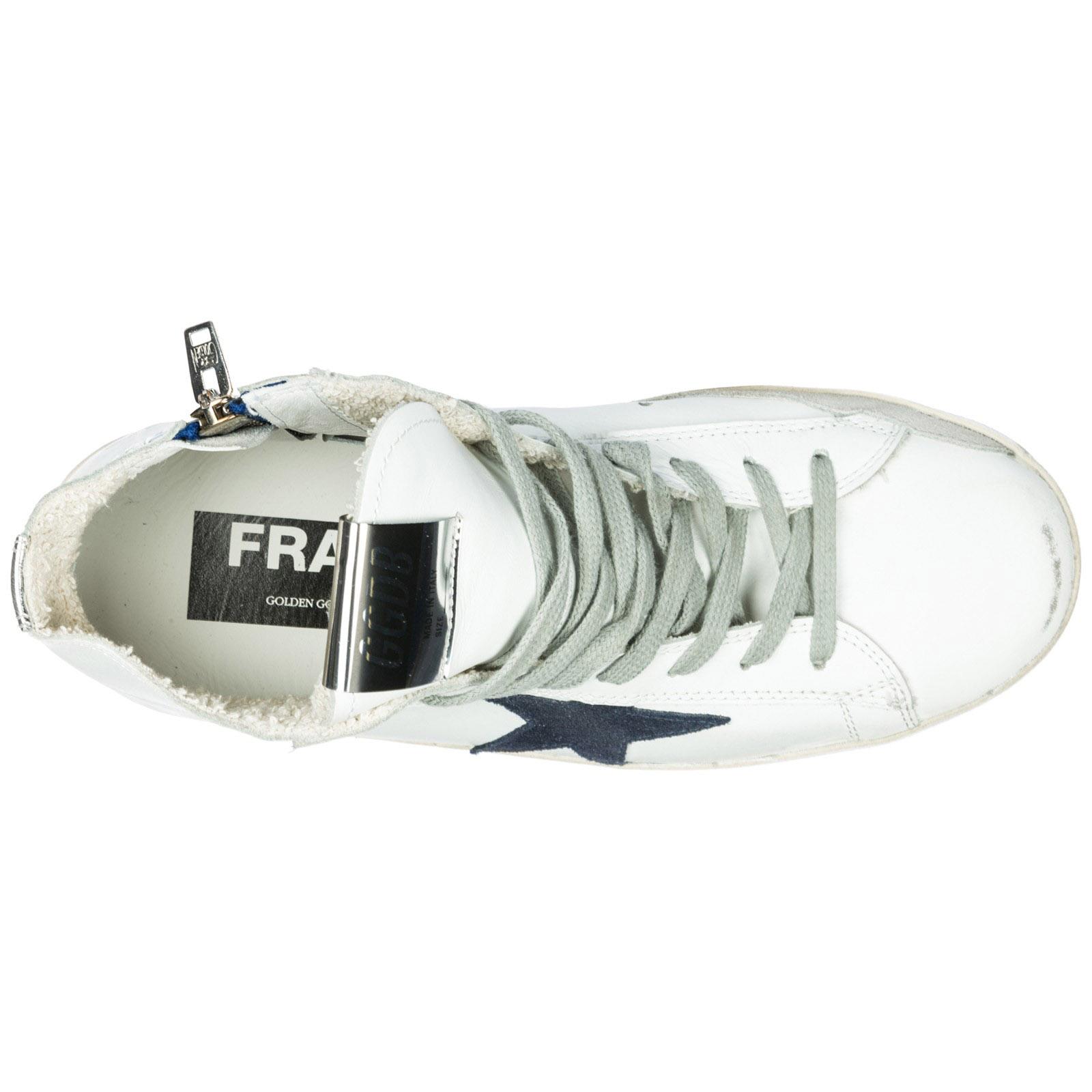 Sneakers alte Golden Goose Francy G33WS591.B39 white - bluette ... 1e33d39085e
