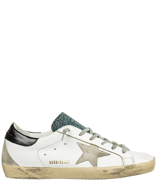 Sneakers Golden Goose superstar G33WS590.G86 white - cosmic crystal