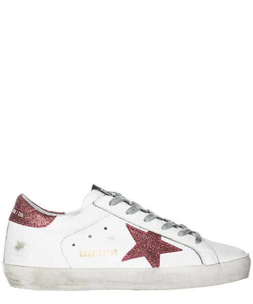 Sneakers Golden Goose Superstar G33WS590.H24 white - rose glitter