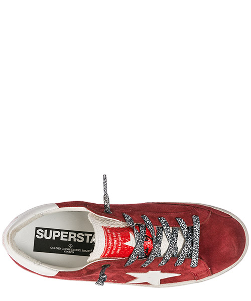 Women's shoes suede trainers sneakers superstar secondary image