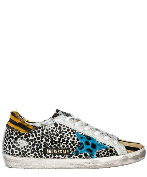 Sneakers Golden Goose Superstar G33WS590.H82 horsy patch