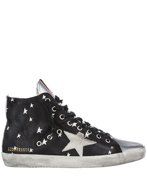 Sneaker high Golden Goose Francy G33WS591.B34 nero
