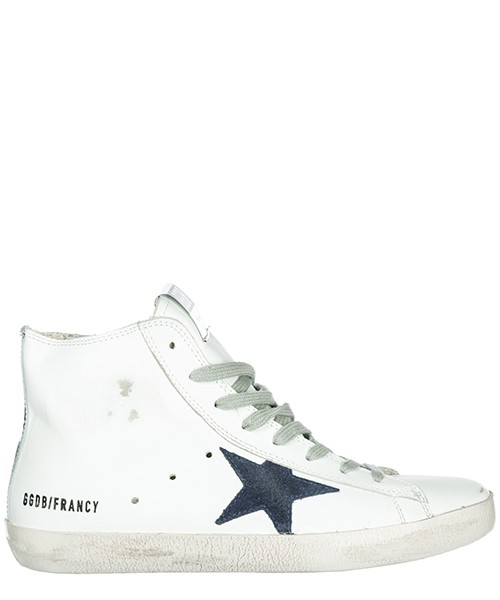 Sneakers alte Golden Goose Francy G33WS591.B39 white - bluette