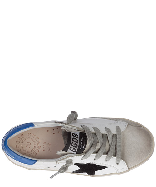 Boys shoes child sneakers leather superstar secondary image