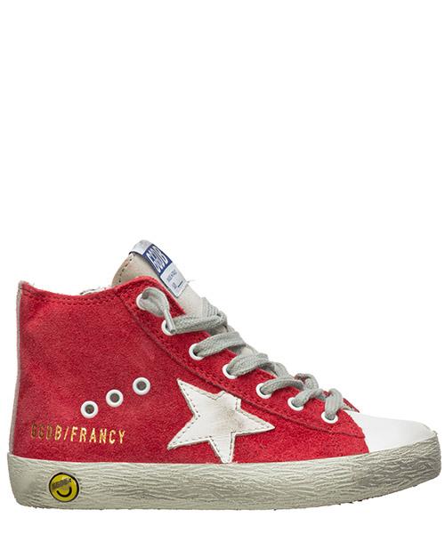 High-top sneakers Golden Goose francy G34KS302.Z9 rosso