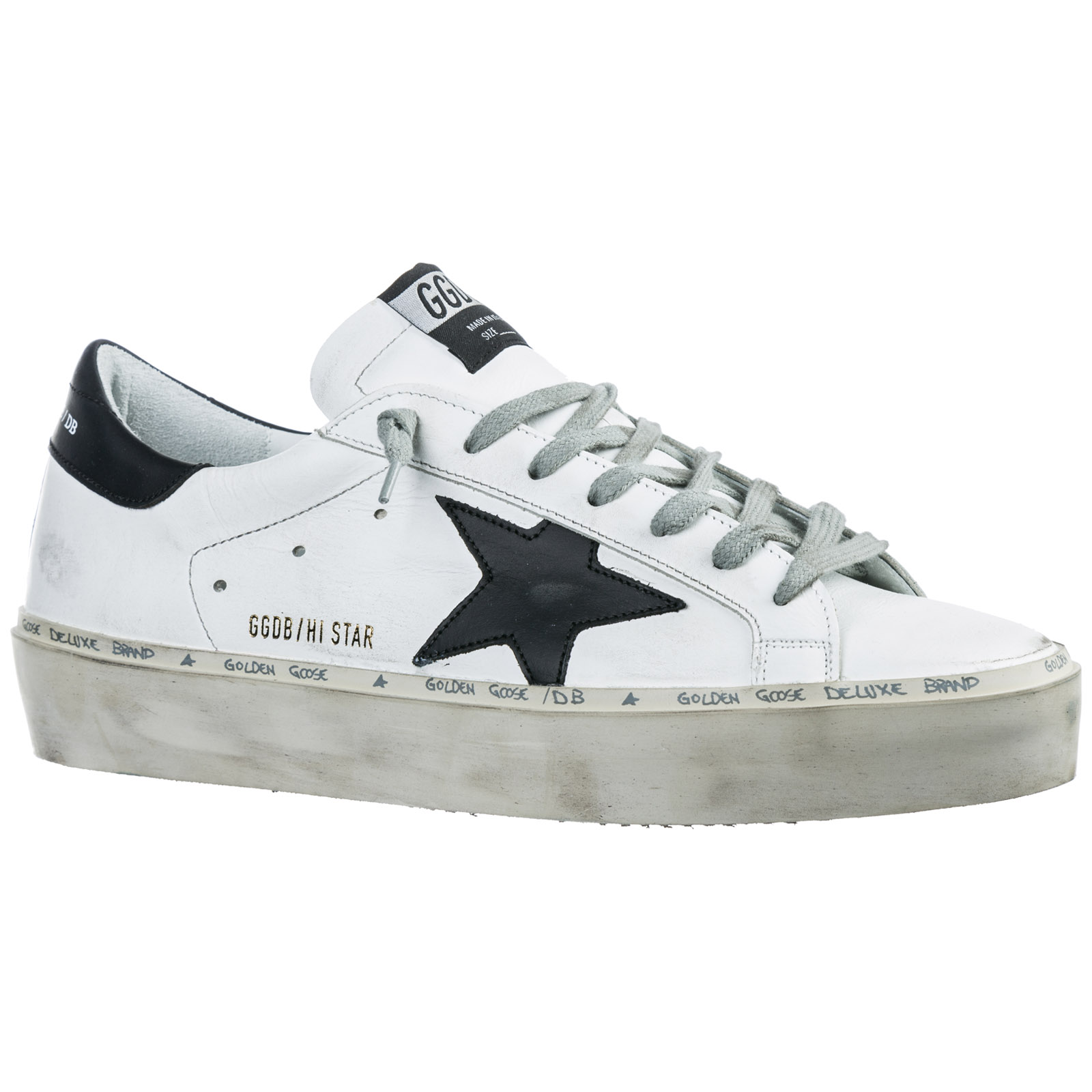 Men's shoes leather trainers sneakers hi star