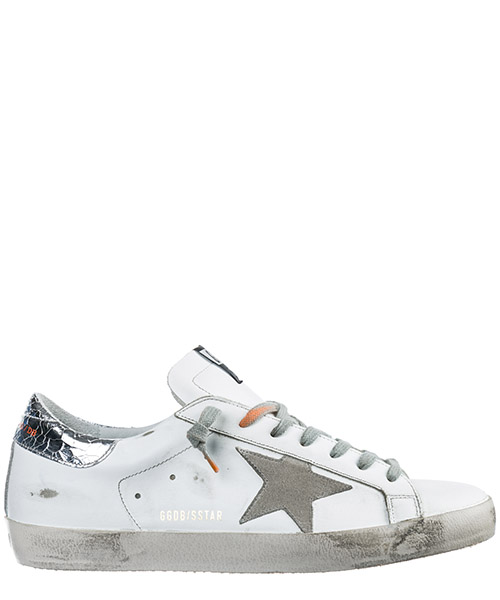 Sneakers Golden Goose Superstar G34MS590.M38 bianco