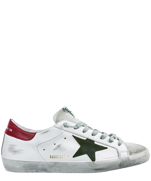 Basket Golden Goose Superstar G34MS590.N14 bianco
