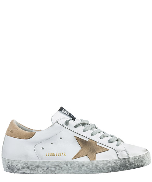 Basket Golden Goose Superstar G34MS590.N16 bianco