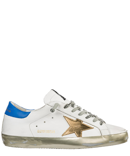 Basket Golden Goose Superstar G34MS590.N24 bianco
