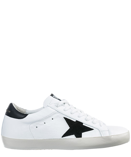 Basket Golden Goose Superstar G34MS590.N30 bianco