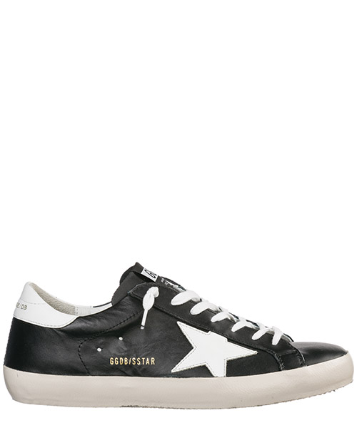 Basket Golden Goose Superstar G34MS590.N31 nero