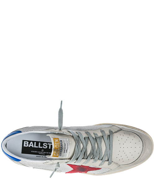 Chaussures baskets sneakers homme en cuir ball star secondary image