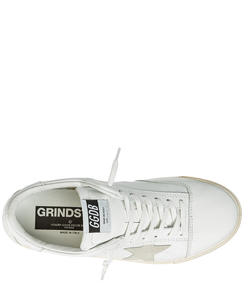 Men's shoes leather trainers sneakers grindstar secondary image