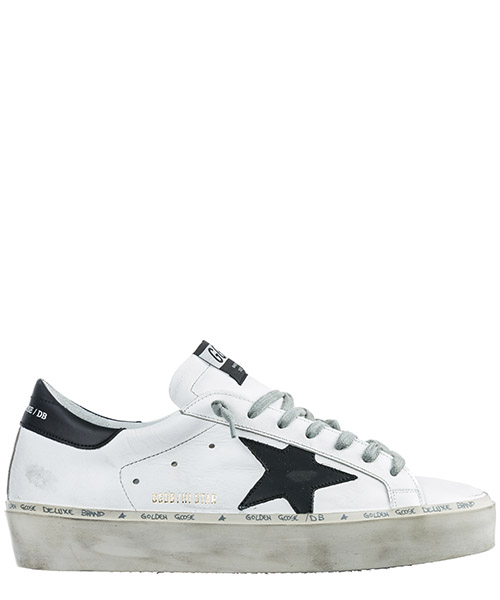 Sneakers Golden Goose Hi Star G34MS945.C7 bianco
