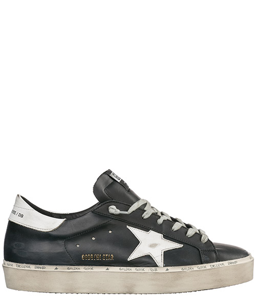 Basket Golden Goose Hi Star G34MS945.C8 nero