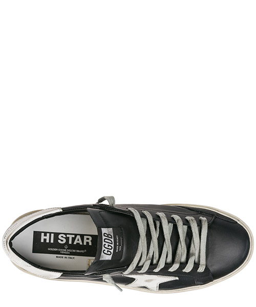 Chaussures baskets sneakers homme en cuir hi star secondary image