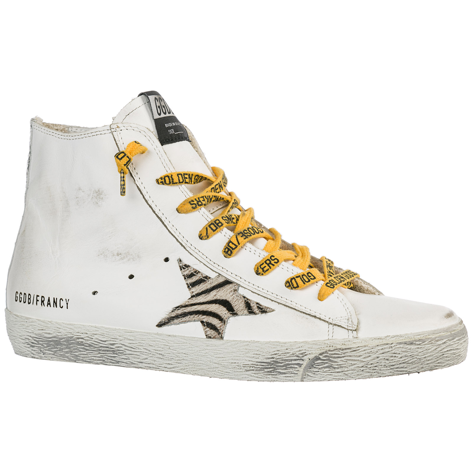 Sneakers alte Golden Goose Francy G34WS591B61 whtie leather - all ... dc5d3f02cdd