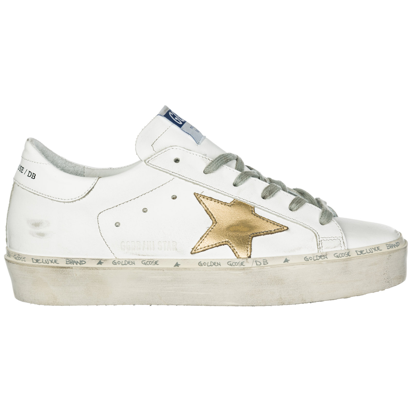 1298ef62f893d Golden Goose Women s shoes leather trainers sneakers hi star