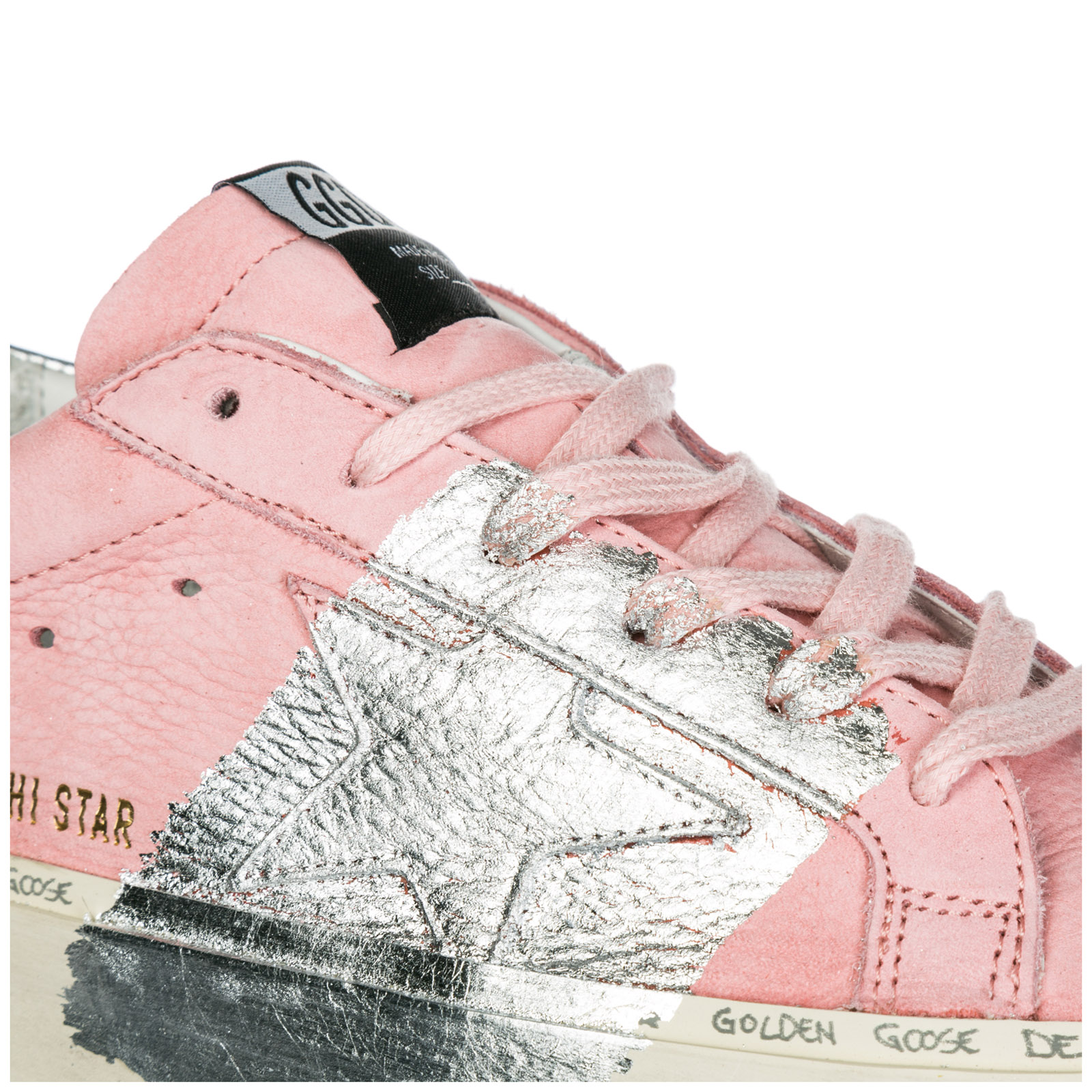 Women's shoes leather trainers sneakers hi star