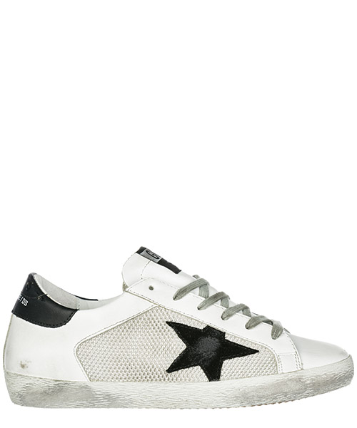 Sneakers Golden Goose Superstar G34WS590.L26 white - grey corl