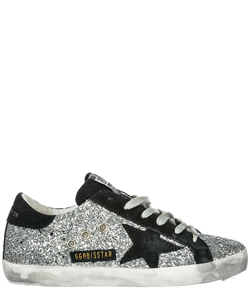 Sneakers Golden Goose Superstar G34WS590.M98 argento