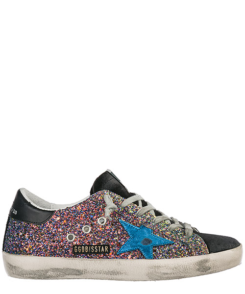 Sneakers Golden Goose Superstar G34WS590.O19 nero