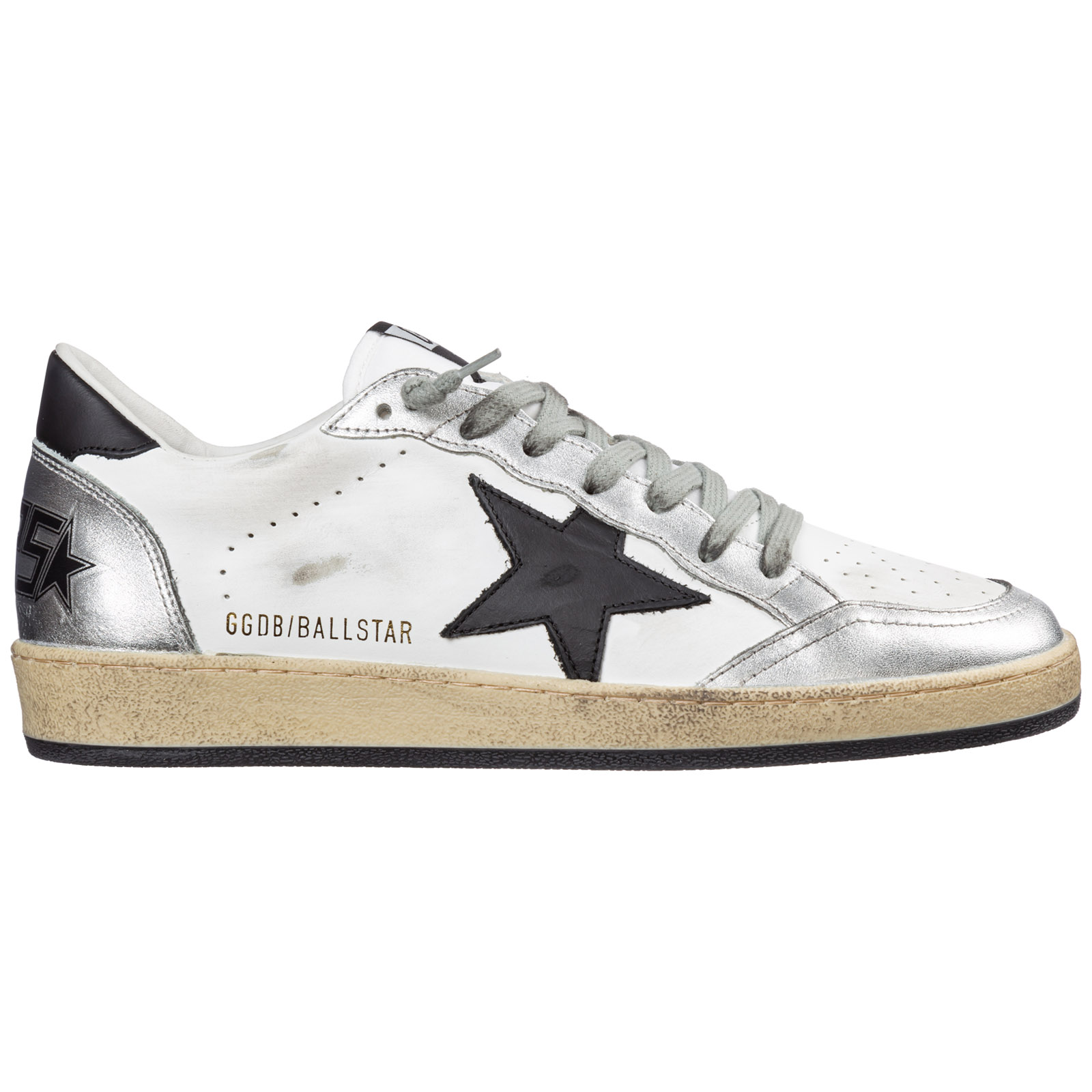 Golden Goose Sneakers MEN'S SHOES LEATHER TRAINERS SNEAKERS BALL STAR