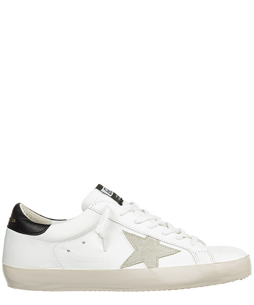 Sneakers Golden Goose Superstar G35MS590.E73 white - black - gold lettering