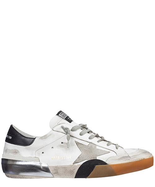 Sneakers Golden Goose superstar g35ms590.p50 bianco
