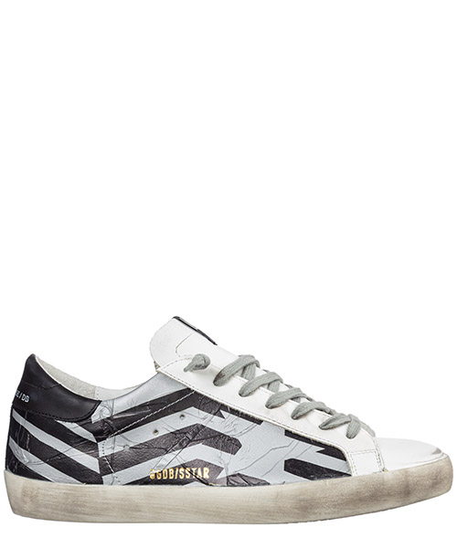 Sneakers Golden Goose superstar g35ms590.q66 nero