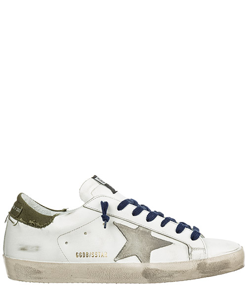 Sneakers Golden Goose Superstar G35MS590.Q82 bianco