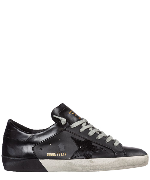 Sneakers Golden Goose superstar g35ms590.q84 nero