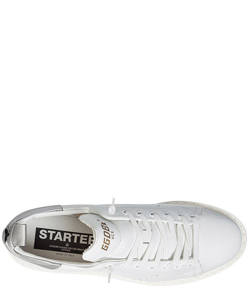 Chaussures baskets sneakers homme en cuir starter secondary image