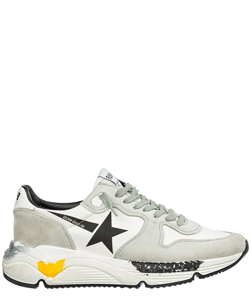 Sneakers Golden Goose Running G35MS963.A1 white lycra - black star
