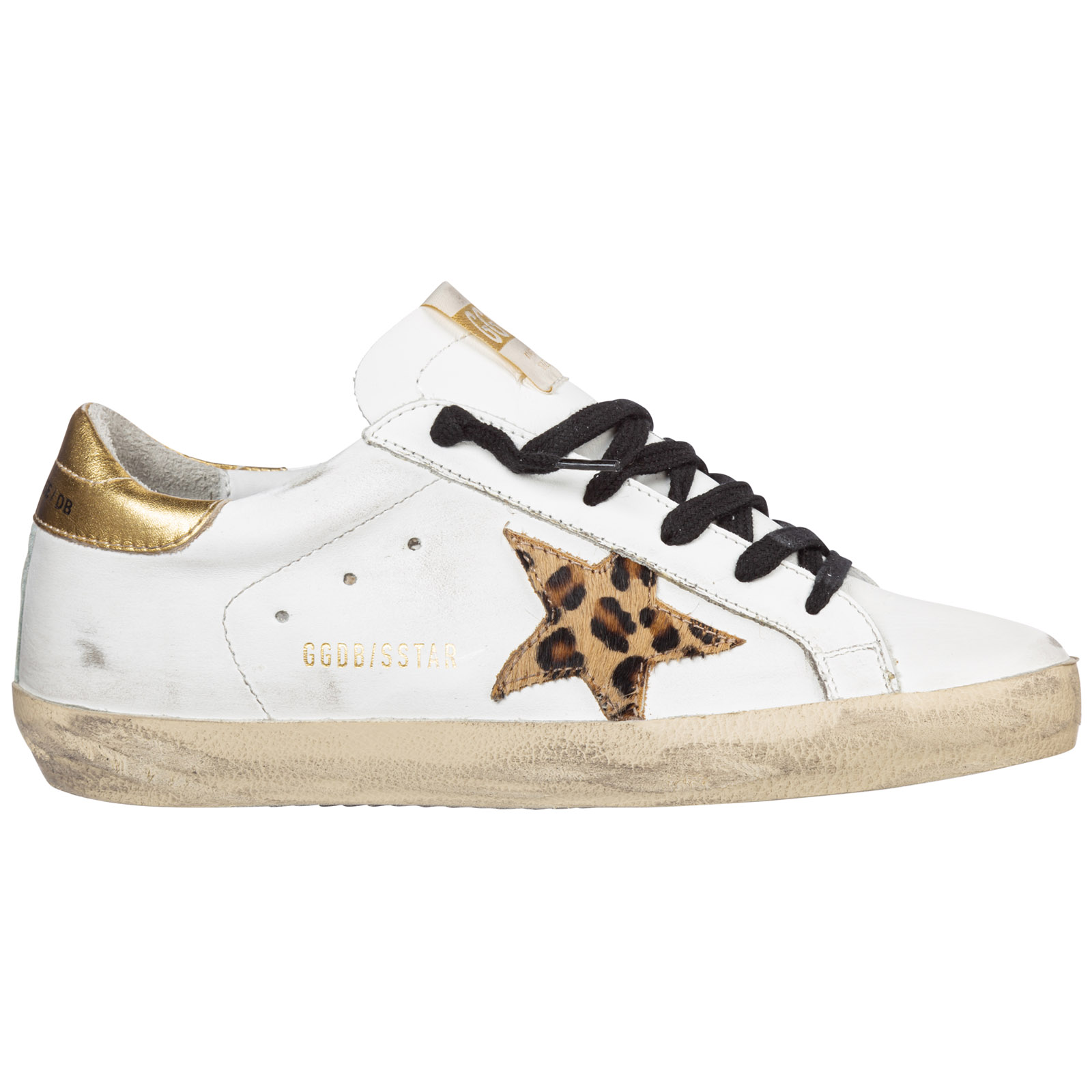 Golden Goose Sneakers WOMEN'S SHOES LEATHER TRAINERS SNEAKERS SUPERSTAR