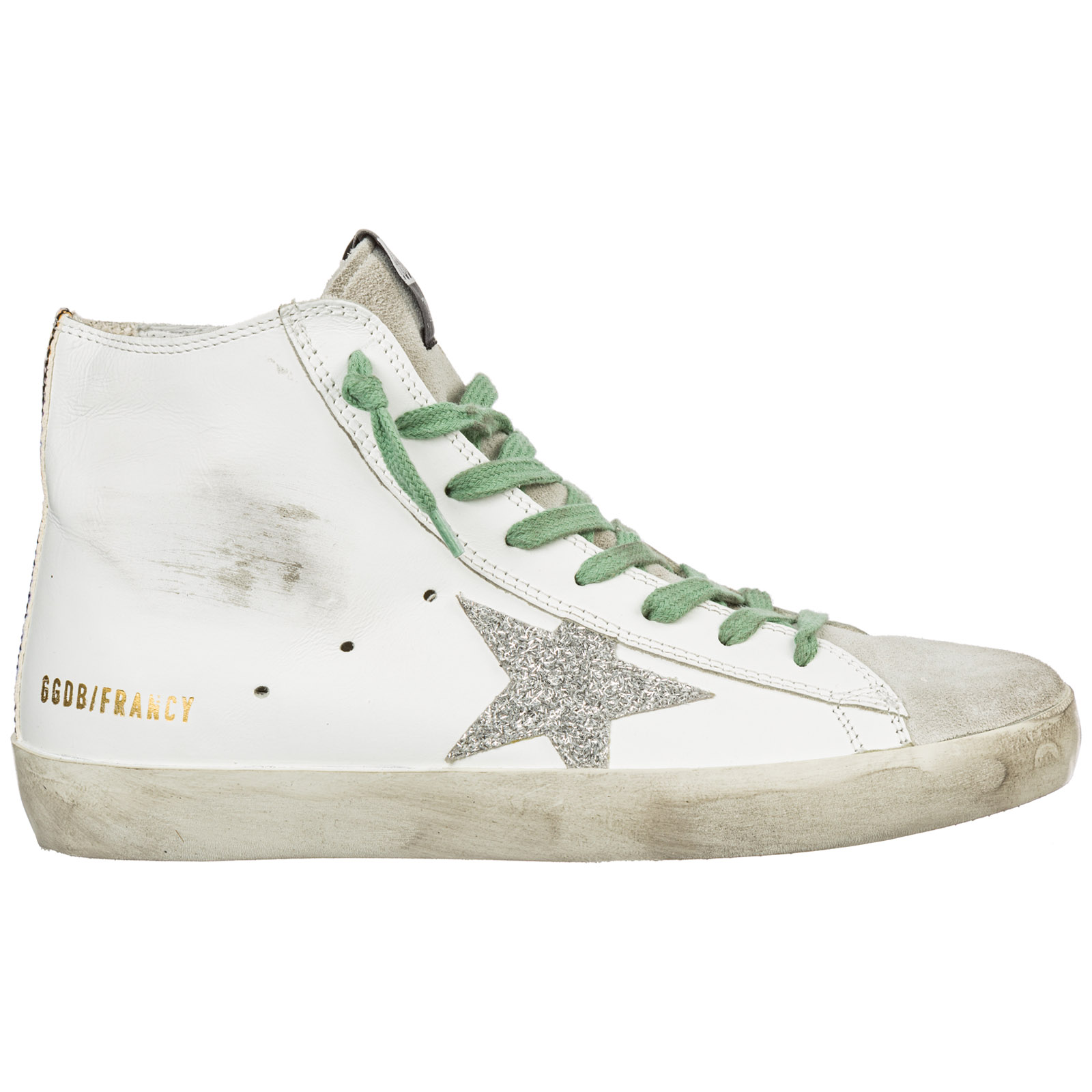 Leather Trainers Sneakers Francy