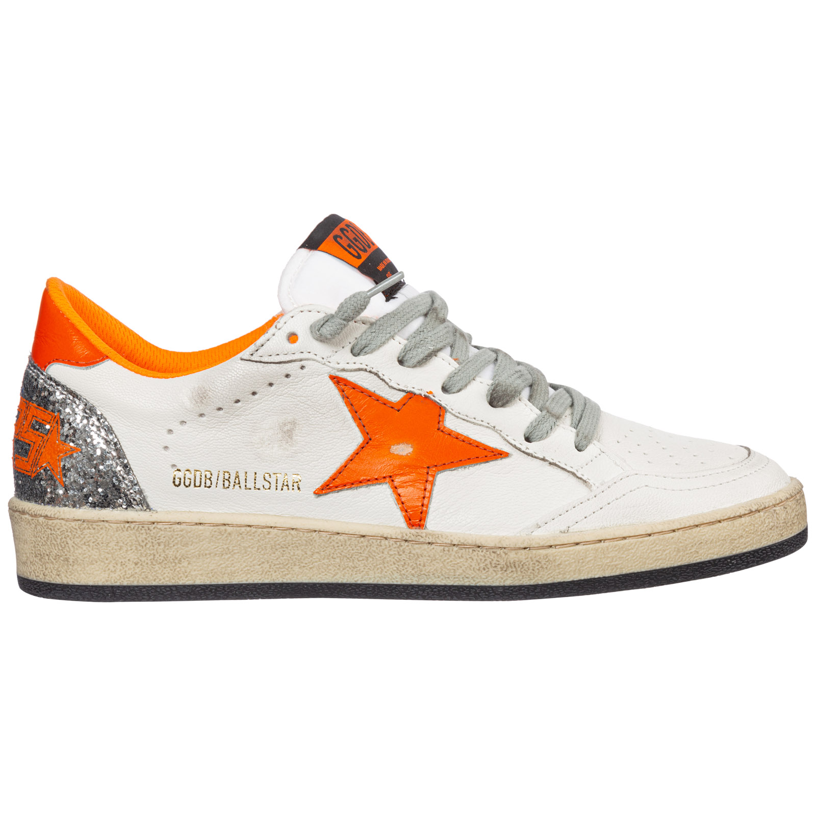 Golden Goose Sneakers WOMEN'S SHOES LEATHER TRAINERS SNEAKERS BALL STAR