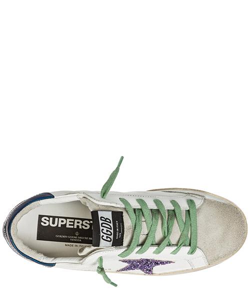 Zapatos zapatillas de deporte mujer en piel superstar secondary image