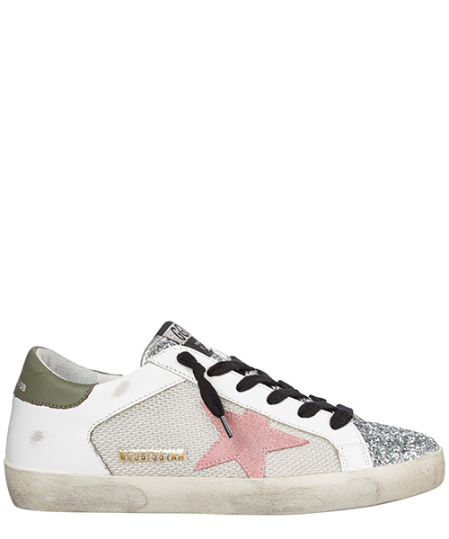 Sneakers Golden Goose superstar g35ws590.p25 bianco