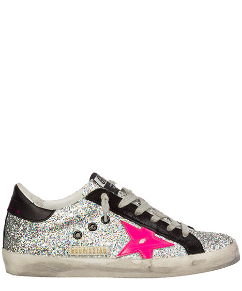 Basket Golden Goose superstar g35ws590.r78 argento