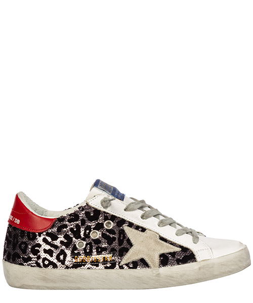 Sneakers Golden Goose superstar g35ws590.r82 viola