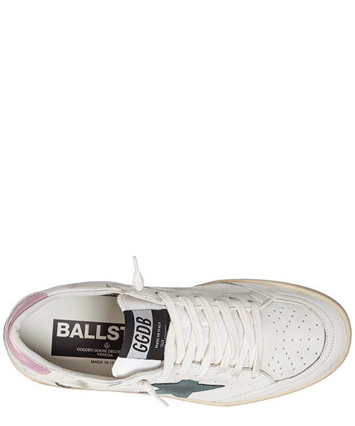 Chaussures baskets sneakers femme en cuir ball star secondary image