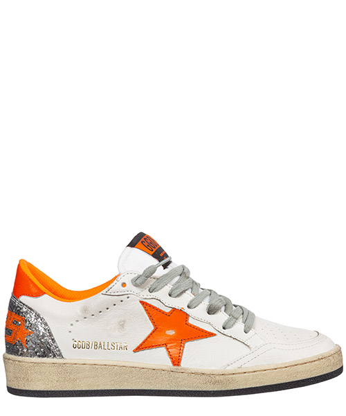 Basket Golden Goose ball star g35ws592.v7 bianco