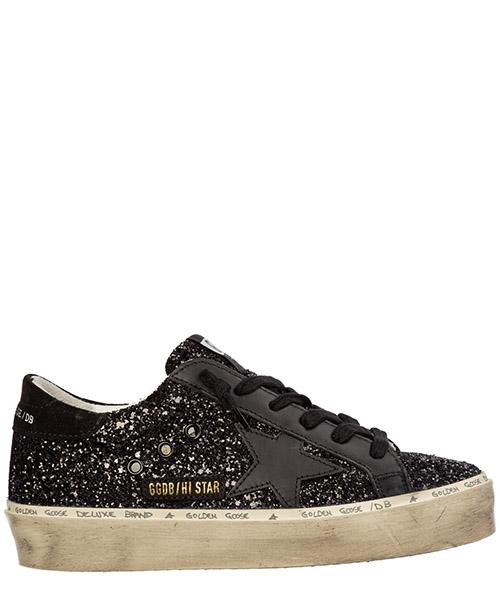 Sneakers Golden Goose hi star g35ws945.k6 nero