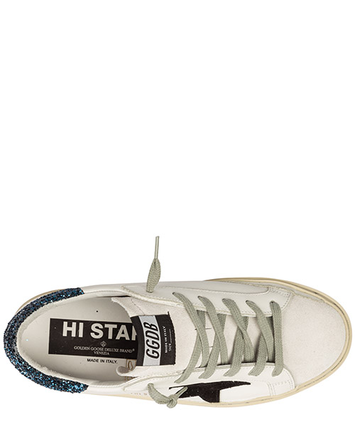 Chaussures baskets sneakers femme en cuir hi star secondary image