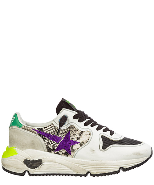 Basket Golden Goose Running G35WS963.I1 bianco
