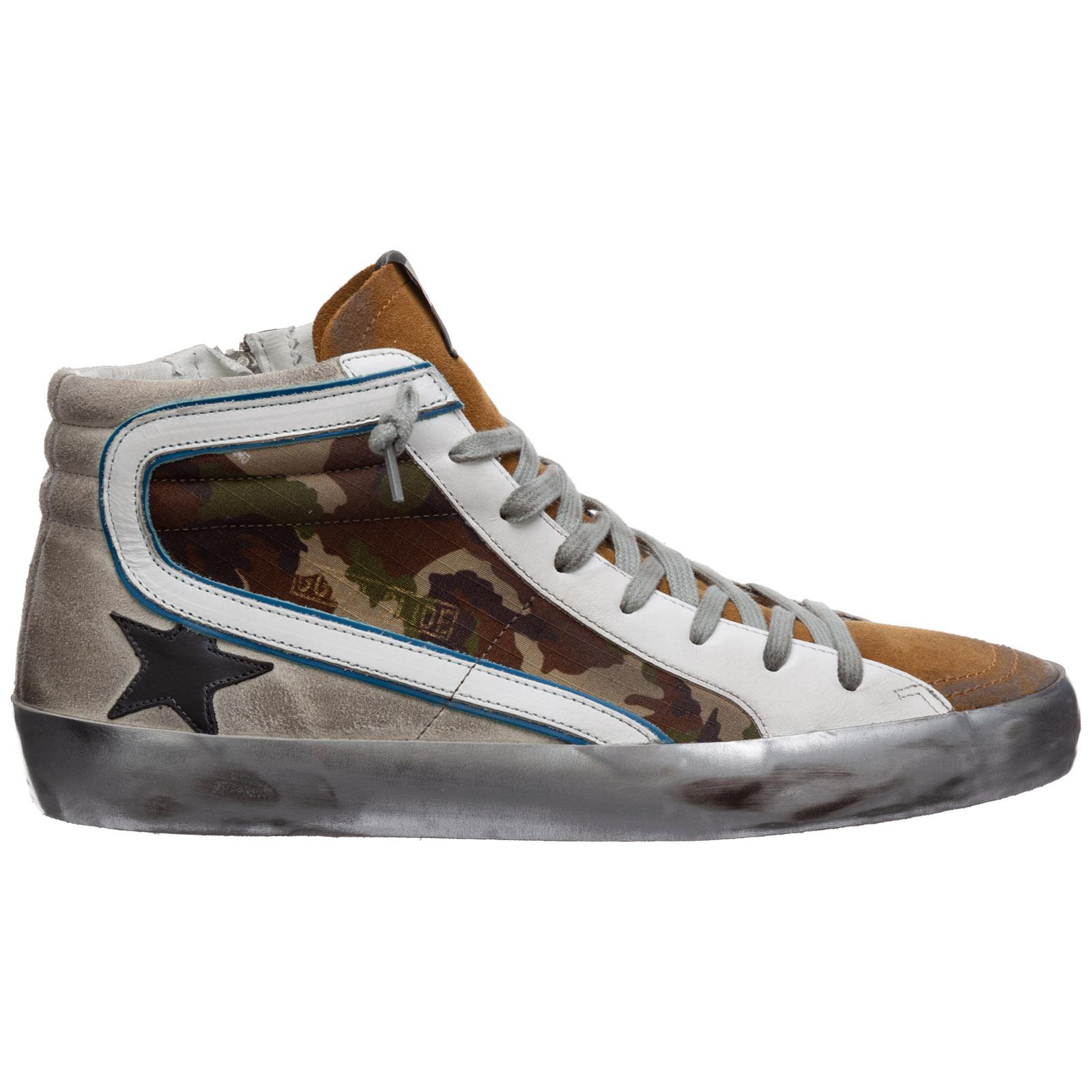 High-top sneakers Golden Goose slide