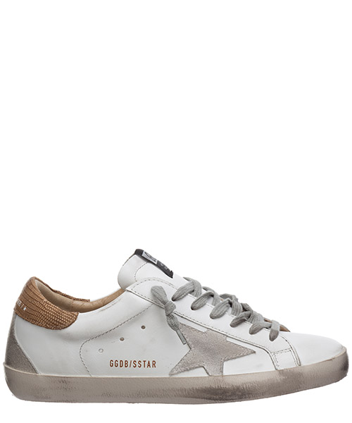 Sneakers Golden Goose superstar G36MS590.S78 bianco