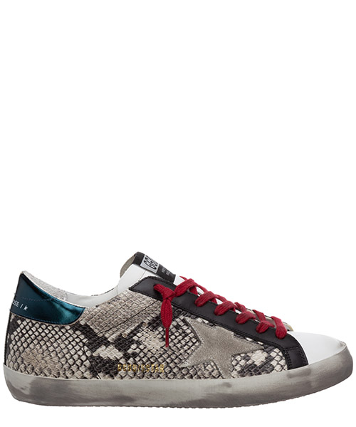 Sneakers Golden Goose superstar G36MS590.T72 grigio